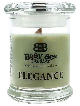 Busy Bee Candles Elegance praskajúca sviečka Country Life