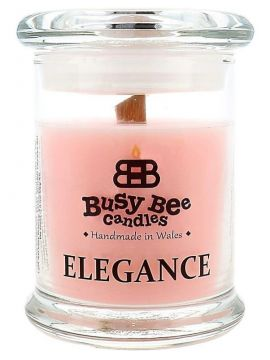 Busy Bee Candles Elegance praskajúca sviečka Pink Lemonade