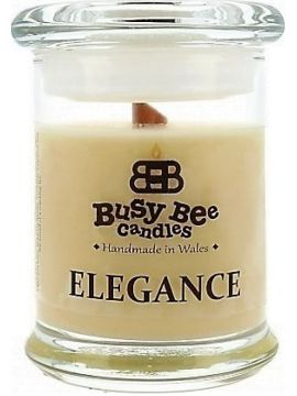 Busy Bee Candles Elegance praskající svíčka Ginger Christmas
