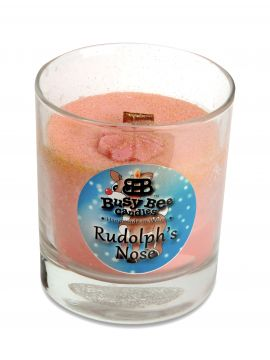 Rudolph's Nose Christmas Crackling Wick Scented Candle